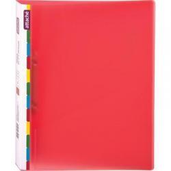 Папка на 2-х кольцах Diagonal, А4, красный