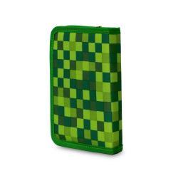 Пенал школьный Pixie Crew с силиконовой панелью для картинок (зелёный)