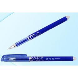 Ручка гелевая синяя 0.5 мм, стираемые чернила
