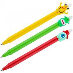 Ручка гелевая Monster Friends, стираемая, синяя, 0,5 мм