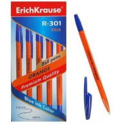 Ручка шариковая R-301 Orange Stick, 0,7 мм, синие чернила
