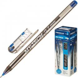 Ручка шариковая масляная My Tech, синяя, 0,7 мм