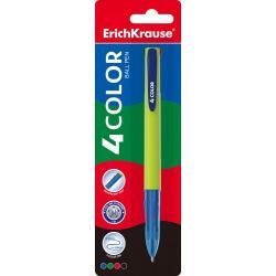 Ручка шариковая автоматическая ErichKrause 4 COLOR, 4 цвета, блистер