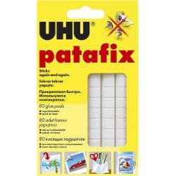 Клеевые подушечки UHU Patafix, белые
