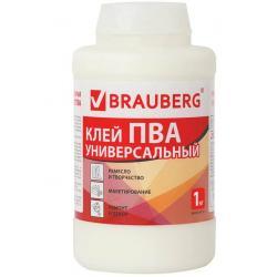 Клей ПВА Brauberg, универсальный, 1 кг