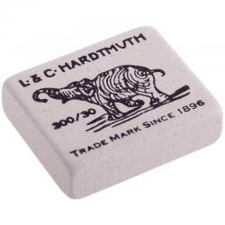 Ластик Elephant, 35х28х8 мм, белый