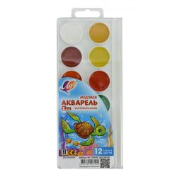 Акварельные медовые краски Mini Zoo, 12 цветов, без кисти