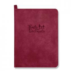Папка-органайзер для документов, A4+, искусственная кожа Линкольн, цвет красный