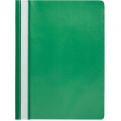 Папка-скоросшиватель Attache, A4, зеленая, 10 штук (количество товаров в комплекте 10)