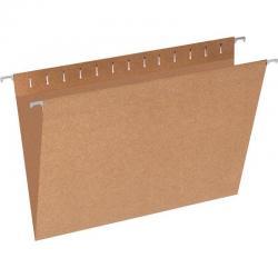 Подвесная папка Foolscap, до 80 листов, коричневая (10 штук)