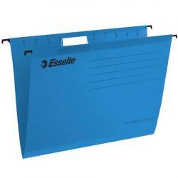 Подвесные папки Classic, с разделителями, А4, 25 штук, цвет синий