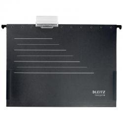 Папка подвесная Alpha. ReСycle, A4, до 150 листов, черная